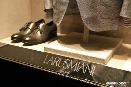 Larusmiani - shop window
