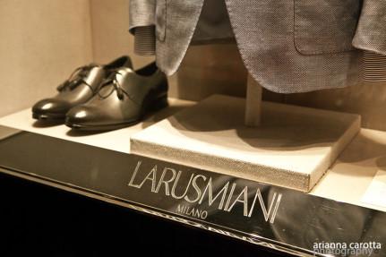 Larusmiani - shop window
