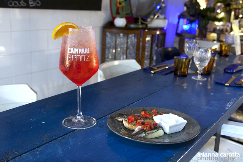 Welcome Drink Campari